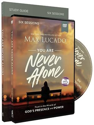Picture of You Are Never Alone Study Guide with DVD